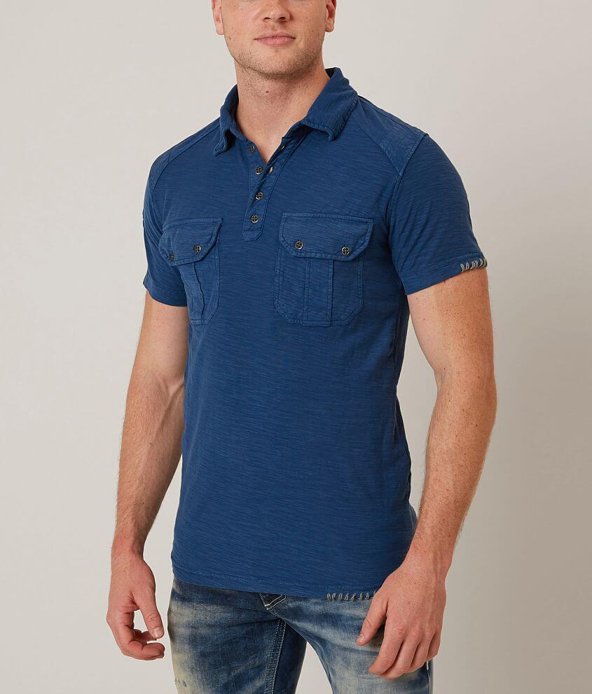 Affliction American Spirit Polo front view