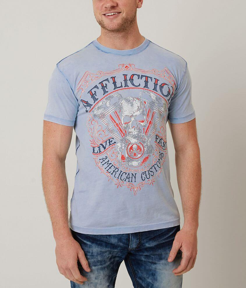 Affliction American Customs Death Eater T-Shirt front view
