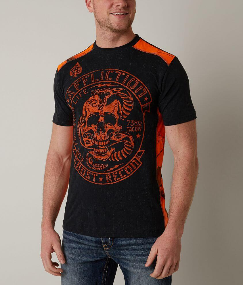 Affliction American Customs 73rd Tactical T-Shirt front view