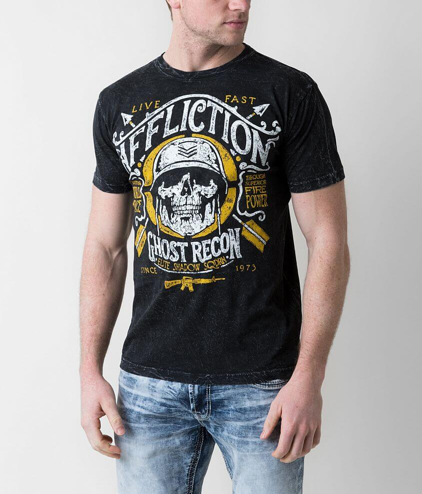 Affliction Freedom Defender Mess Hall T-Shirt front view