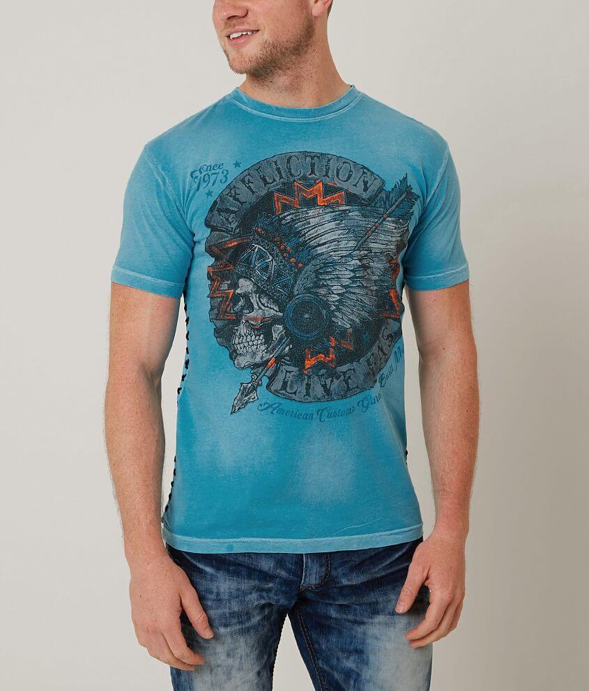 Affliction American Customs Desert Fox T-Shirt front view