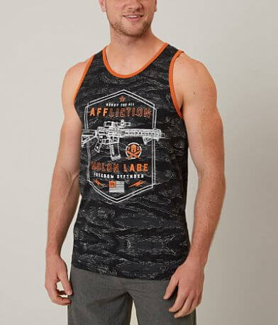 Affliction Freedom Defender Molon Labe Tank Top