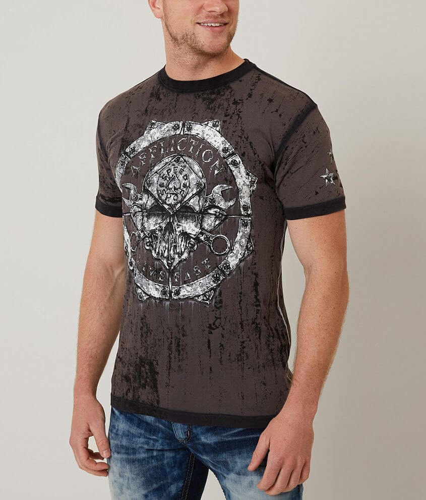 Affliction Cold Pressed T-Shirt front view