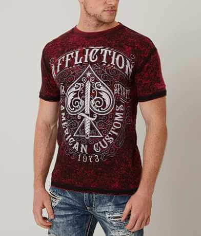 Affliction American Customs Death Spade T-Shirt