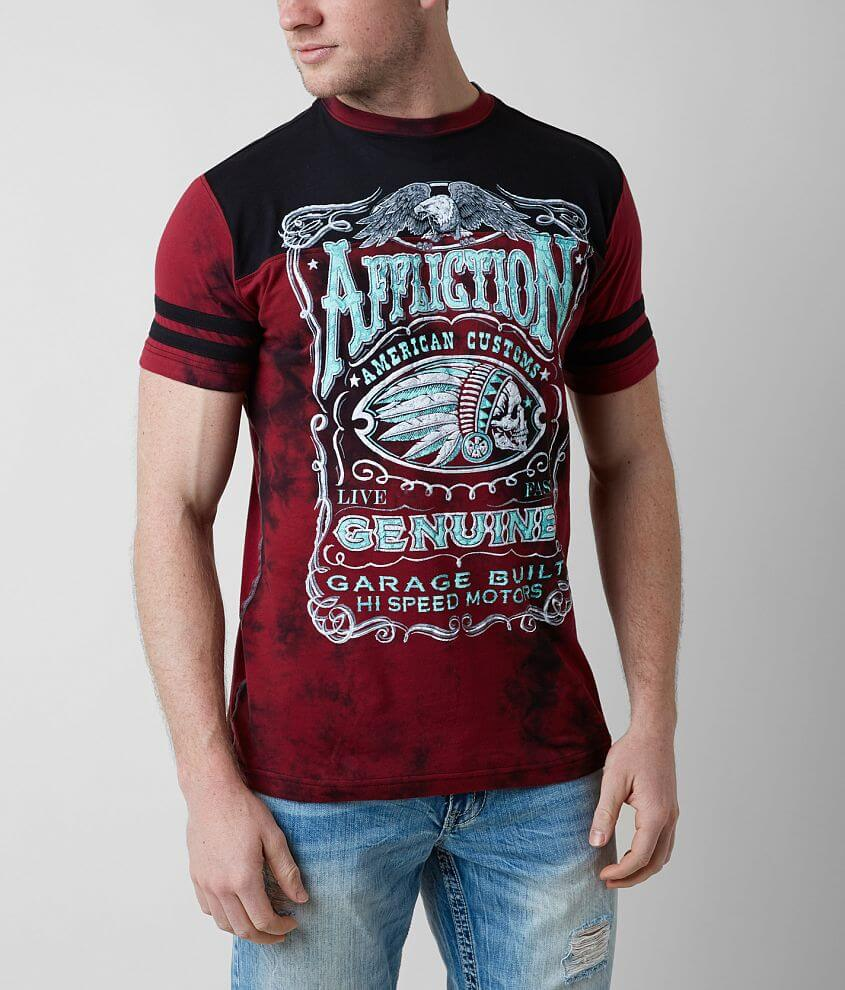 Affliction American Customs Genuine Whiskey front view