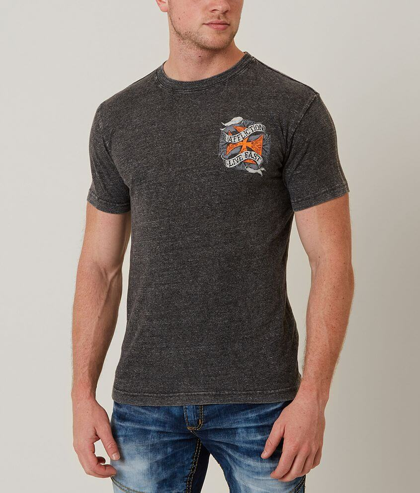 Affliction American Customs Spare Parts T-Shirt front view