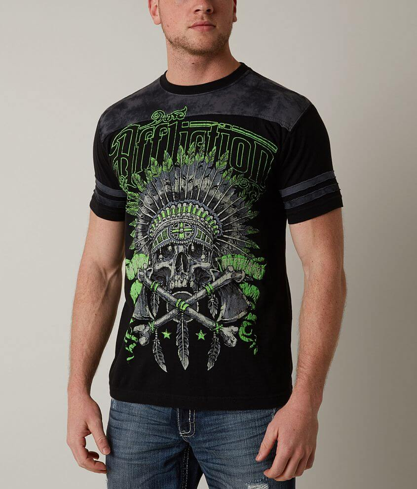 Affliction Blackfoot T-Shirt front view