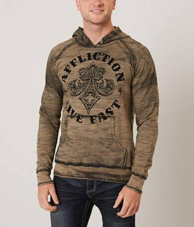 Affliction Royale Reversible Hooded Sweatshirt