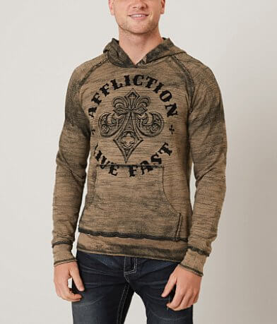 Affliction Royale Reversible Hooded Sweatshirt