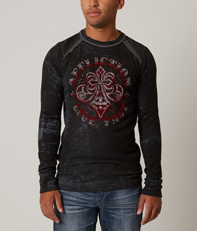 Affliction Royale Impact Reversible Thermal Shirt