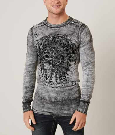 Affliction American Customs Iroquois Thermal Shirt