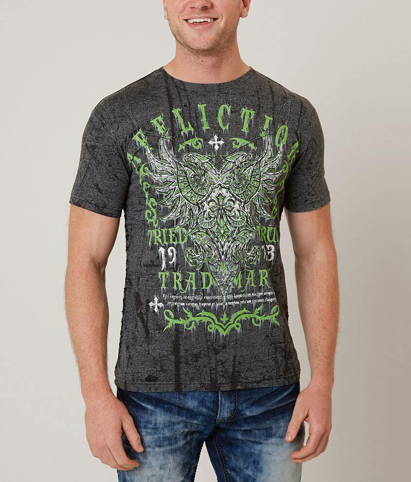 Affliction Tried Attack T-Shirt front view