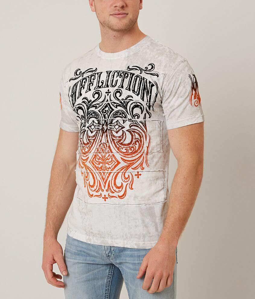 Affliction Ironside T-Shirt front view
