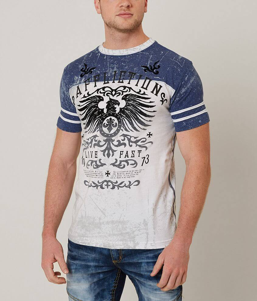 Affliction Secure Measure T-Shirt front view