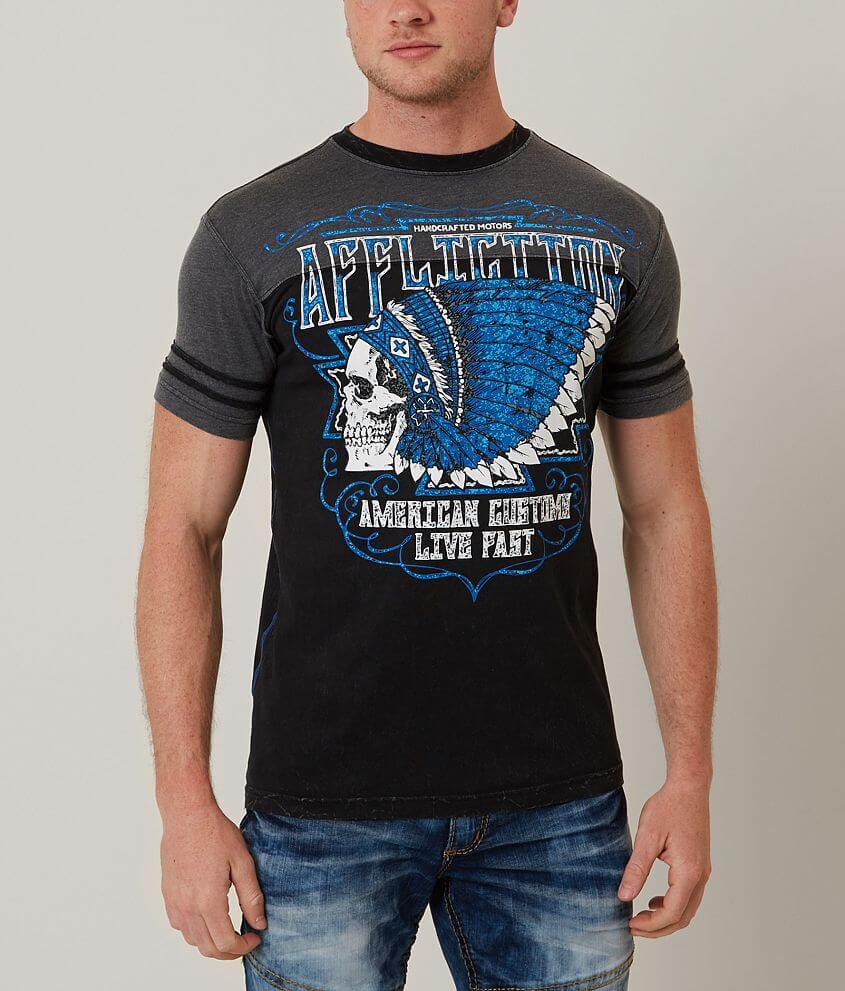 Affliction American Customs Roam T-Shirt front view