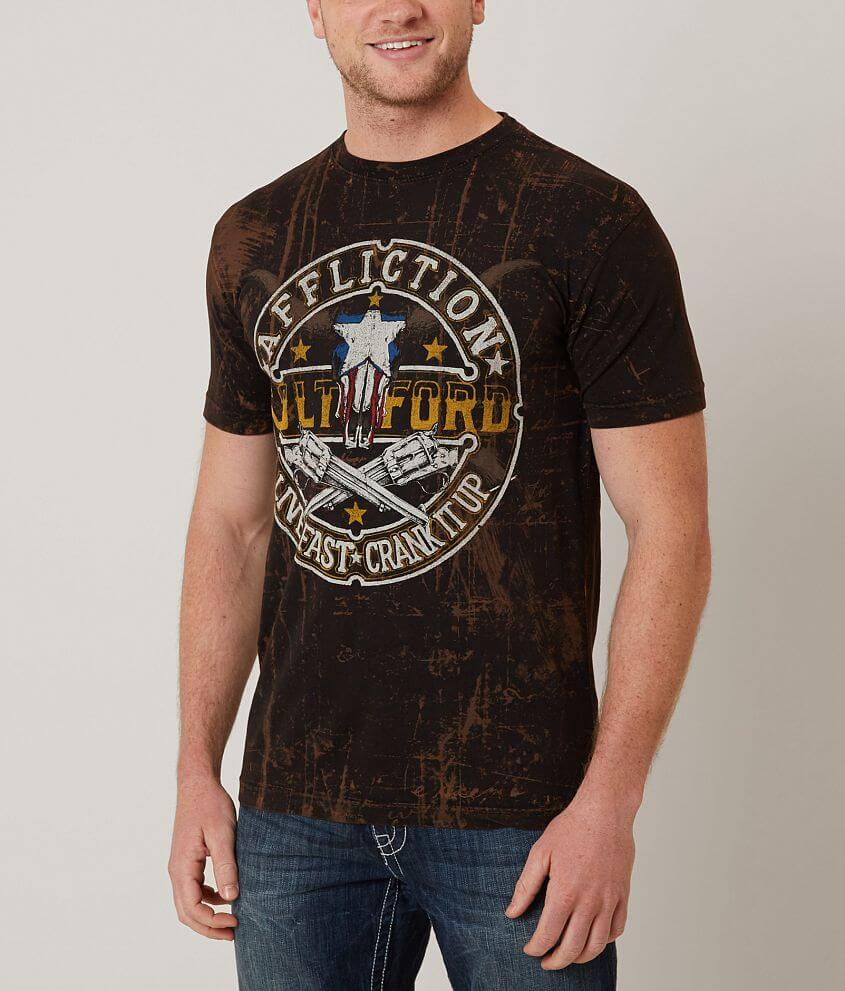 Affliction Colt Ford T-Shirt front view