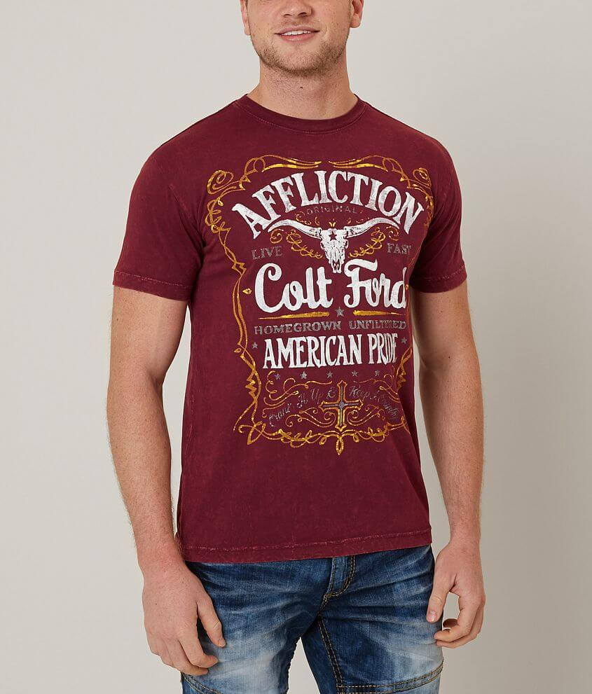 Affliction Colt Unfiltered T-Shirt front view