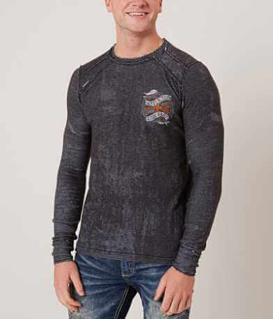 Affliction Spare Parts Reversible Thermal Shirt