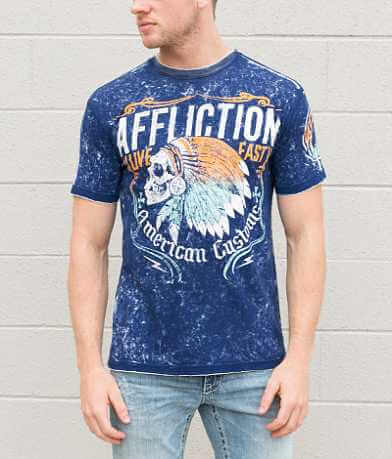 Affliction American Customs Tomahawk T-Shirt