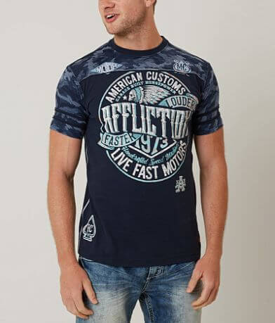 Affliction American Customs Crude T-Shirt
