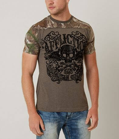 Affliction American Customs Decompose T-Shirt