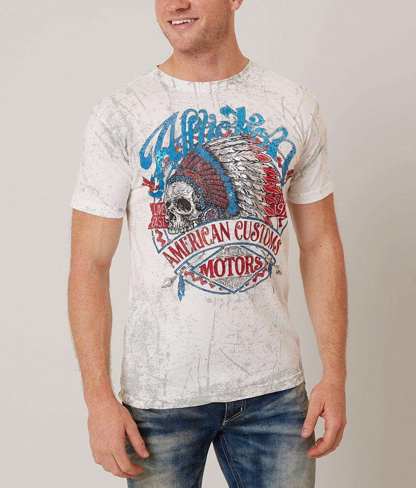 Affliction American Customs Vision Quest T-Shirt front view