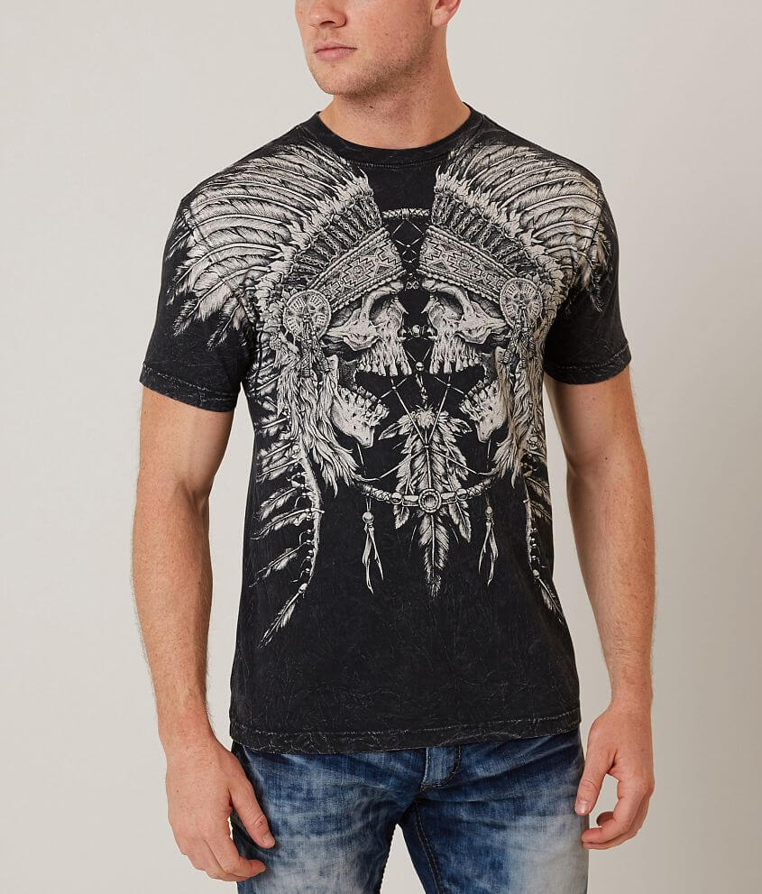Affliction Tribal Scream T-Shirt front view