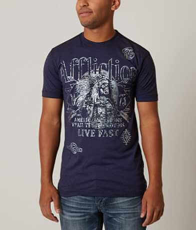 Affliction American Customs Tested Motors T-Shirt