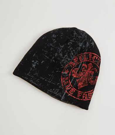 Affliction Divid Varnish Reversible Beanie