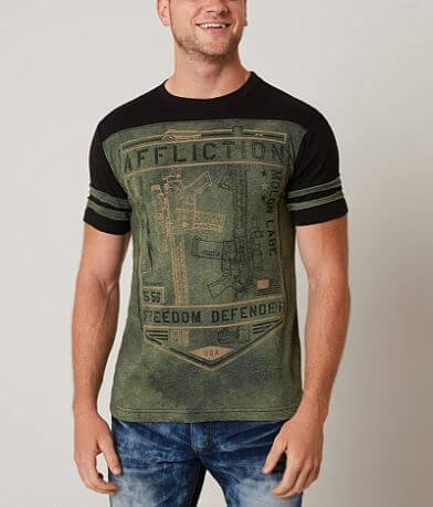 Affliction Freedom Defender Liberty T-Shirt