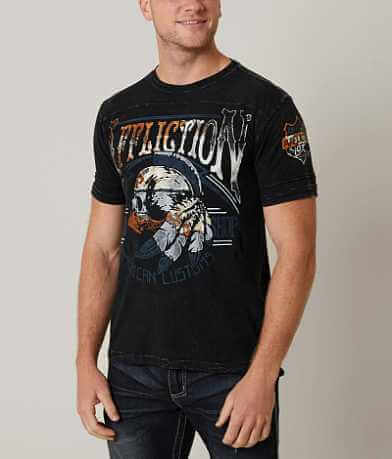 Affliction American Customs Thunder Shop T-Shirt