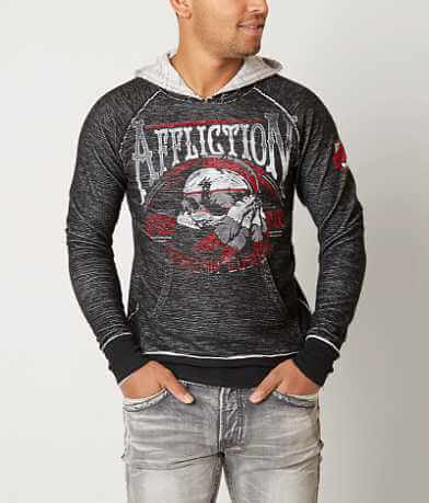 Affliction Thunder Shop Reversible Sweatshirt