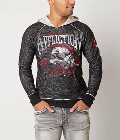 Affliction Thunder Shop Reversible Sweatshirt