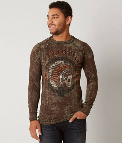 Affliction American Customs Arrow Thermal Shirt