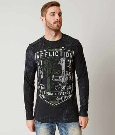 Affliction Freedom Defender Liberty Thermal Shirt