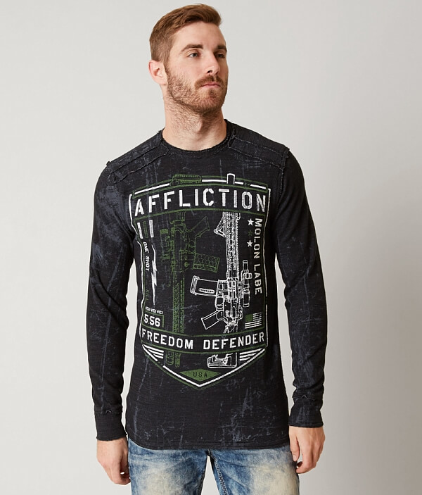 Freedom Thermal Shirt Liberty Defender Affliction xOHd8qAx