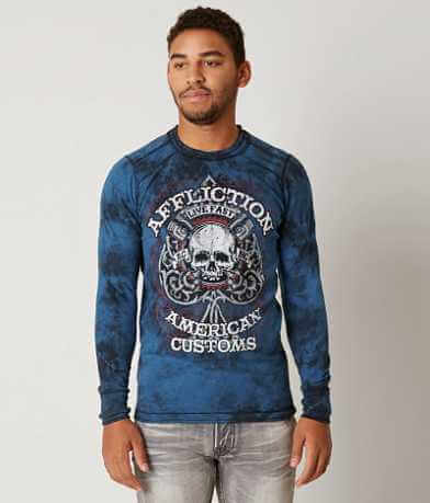 Affliction American Customs Piston Thermal T-Shirt
