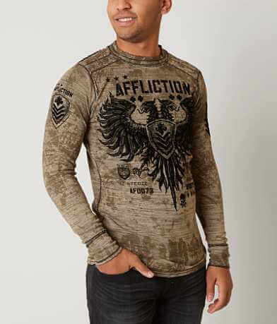 Affliction Valve Reversible Thermal Shirt