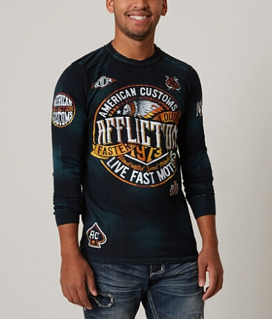 Affliction American Customs Crude Thermal Shirt