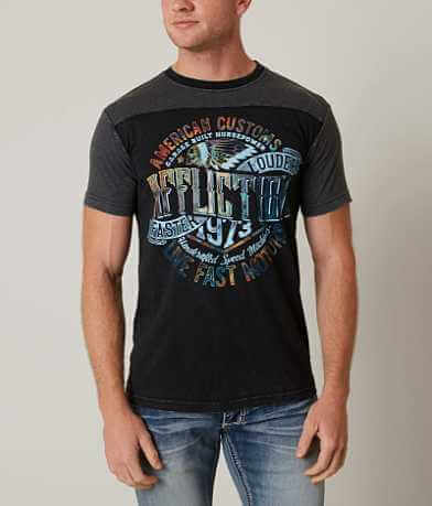 Affliction American Customs Faster Louder T-Shirt