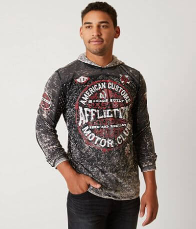 Affliction American Customs Tibe Hoodie