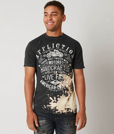 Affliction American Customs Twisted Metal T-Shirt