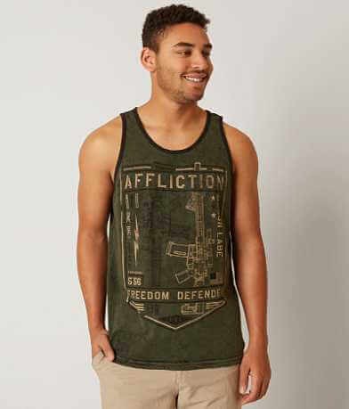 Affliction Freedom Defender Liberty Tank Top
