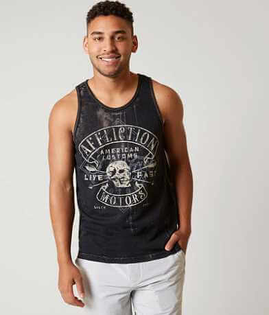 Affliction American Customs Diamond Tank Top