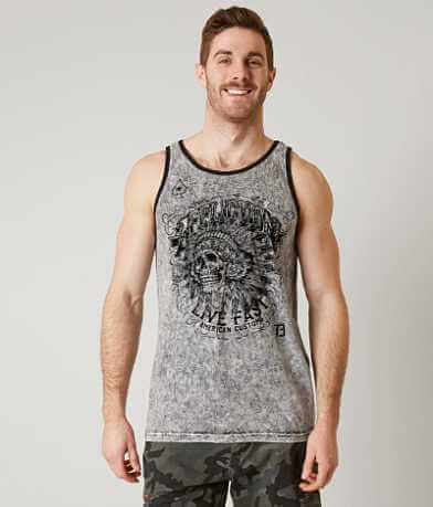 Affliction American Customs Iroqudis Tank Top