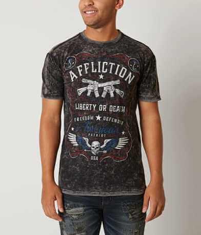 Affliction Don't Tread Reversible T-Shirt