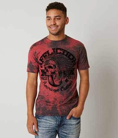 Affliction American Customs Bull Run Dusk T-Shirt