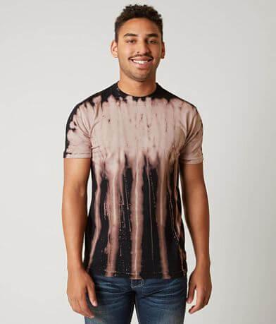 Affliction Standard Supply Dripped T-Shirt