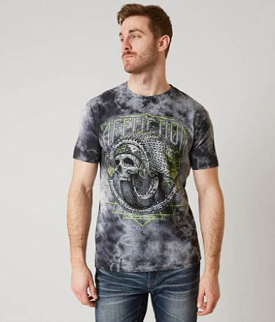 Affliction American Customs Wheel Tribe T-Shirt