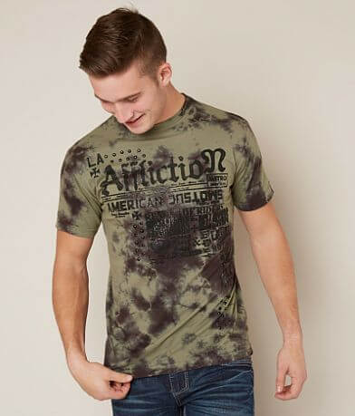 Affliction American Customs Undertakers T-Shirt